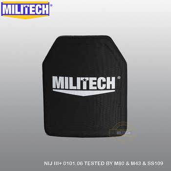 MILITECH Alumina & PE NIJ III+ Bulletproof Plate NIJ Level 3+ Stand Alone Ballistic Panel NIJ level 3 AK47 & SS109 & M80 Panel - Category 🛒 All Category