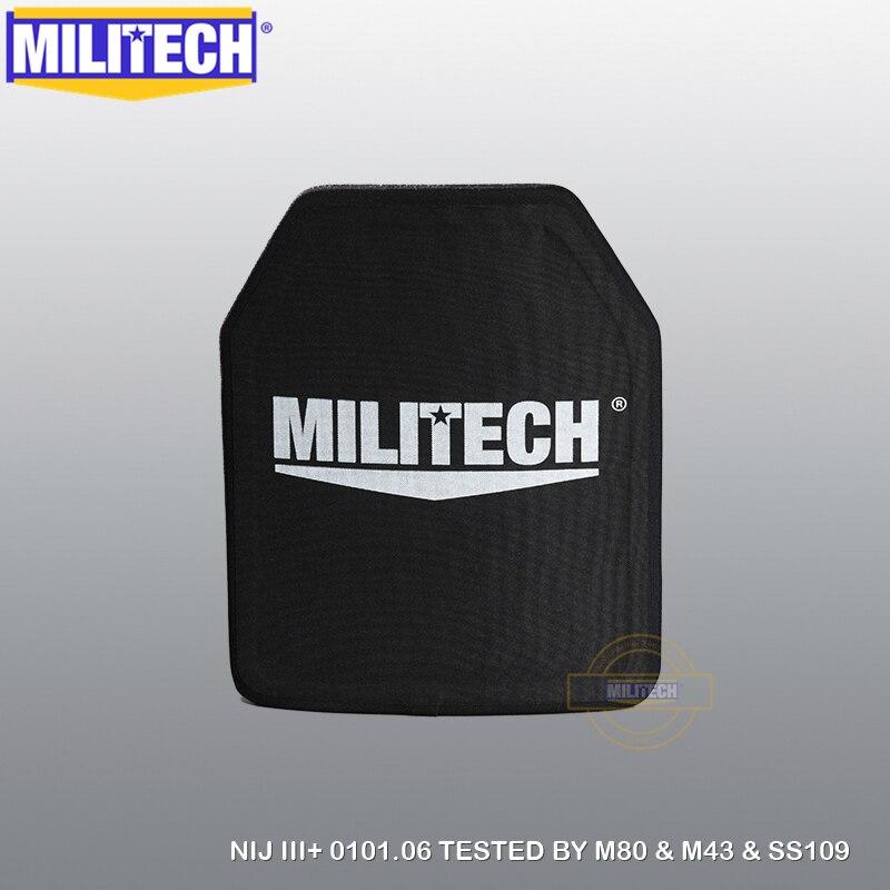 Alumina Bulletproof MILITECH Plate