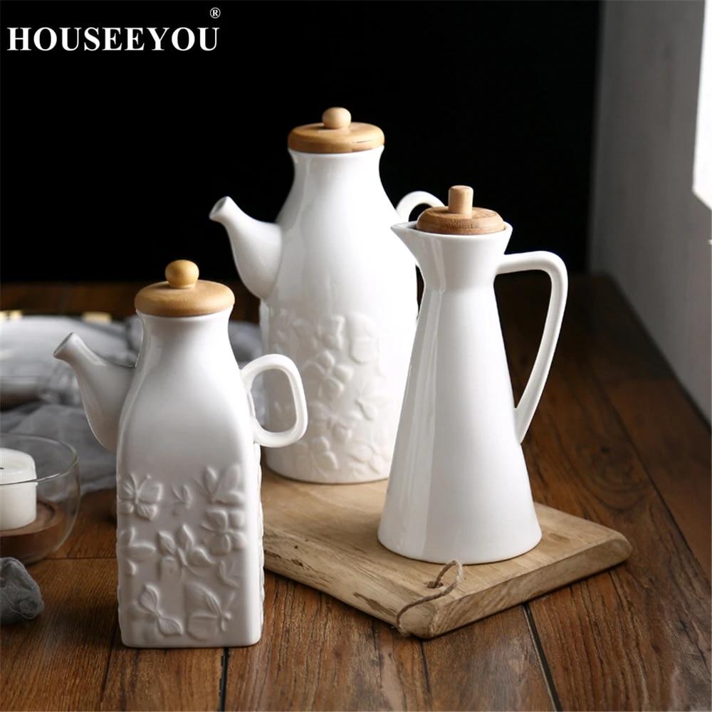 Pottery creamer Milk pitcher Sauce pot Sauce boat Ceramic Lidded jar Covered