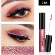 Waterproof Glitter Liquid Eye Shadow Eyeliner Pencil Metallic Shine Liner Charming Pen Makeup Tool