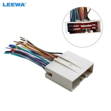 LEEWA Car Radio CD Player Wiring Harness Audio Stereo Wire Adapter for FORD Install Aftermarket Stereo #CA1695