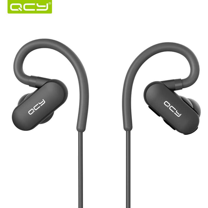 QCY QY31 IPX4 sweatproof ヘッドフォン Bluetooth 4.1 ワイヤレススポーツヘッドセット aptx ステレオイヤホンとマイク