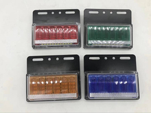 10Pcs 24V Truck Trailer Lorry Side Marker Lights Clearance Lamp Waterproof Side Lamp 2 pcs 6led car side marker lights clearance lamp for 24v vehicles truck trailer lorry