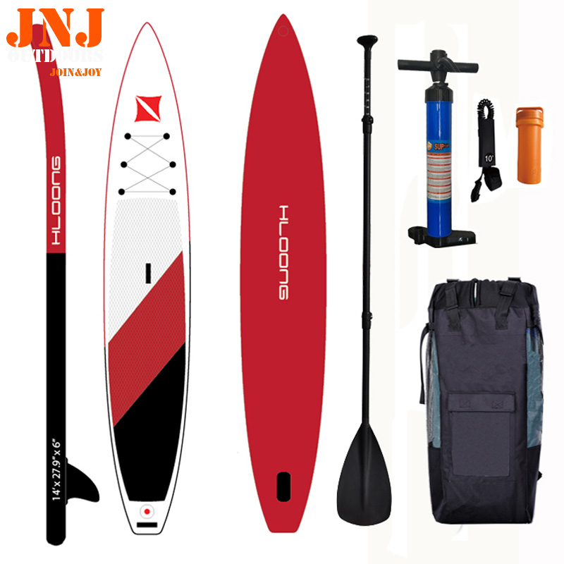 14' inflatable sup board isup with bags and accessories тетрадь общая action готика 160 листов клетка кольца an 16038 5 an 16038 5