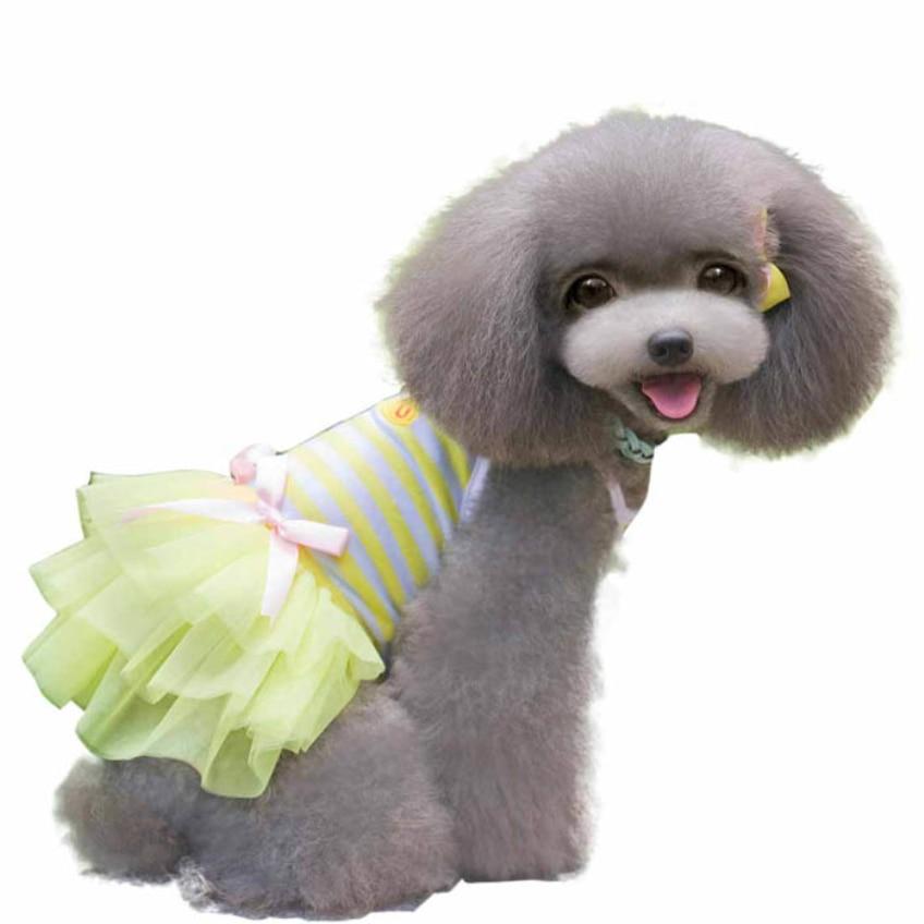 Happy Wysokiej Jakości 2016 Słodki Piękny Puppy Dog Princess Dress - Produkty dla zwierząt domowych - Zdjęcie 6