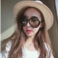 Mix wind sunglasses Ladies Black Round Sunglasses Women Vintage Fashion Sun Glasses Female Eyeswear Brand Designer Shades Retro