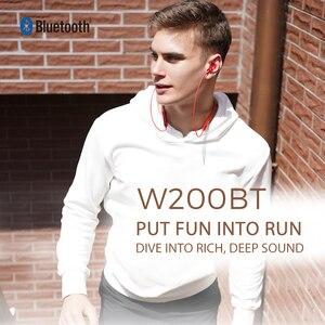 Image 2 - EDIFIER W200BT(SE)  wireless earphone Bluetooth 5.0 IPX4 rated Waterproof 7hrs of playback Magnetic function bluetooth earphone