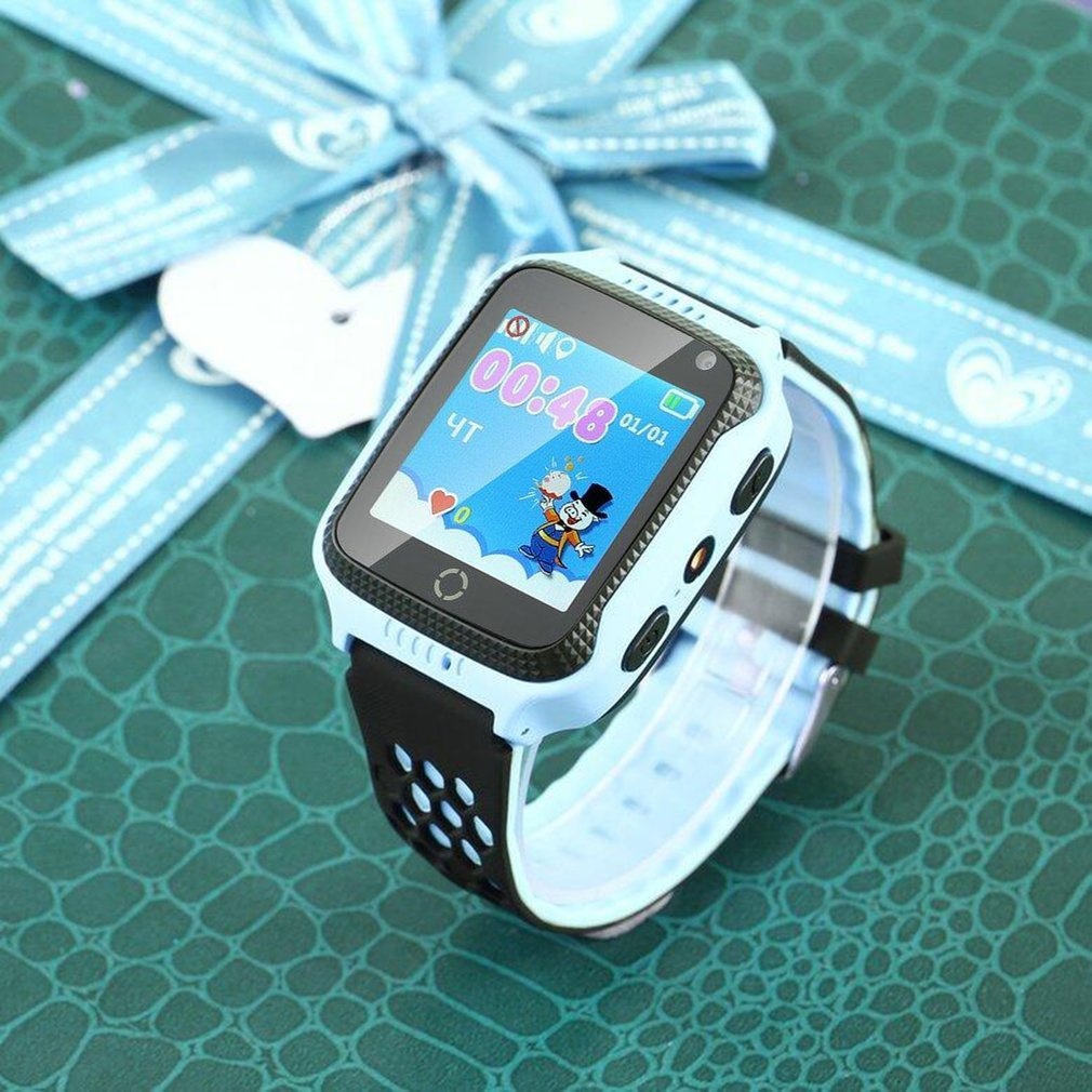 Christmas Gifts Q528 Kids Smart Watch with Flashlight & Camera SOS Location Tracker GPS LBS Device Baby Wrist Children watch