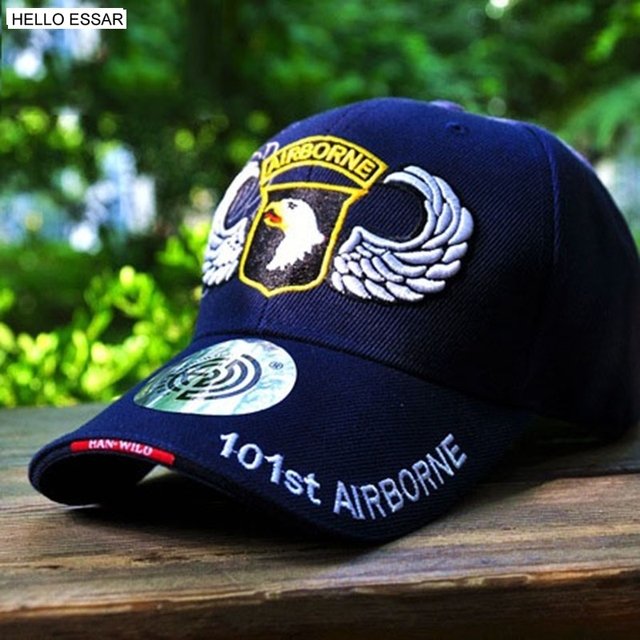 766b5f19e66 NEW Baseball Cap Men Women Snapback Fitted Air Force US 101 Airborne Golf  Sports Hat Cap Outdoors Travel Trucker Hats C1159