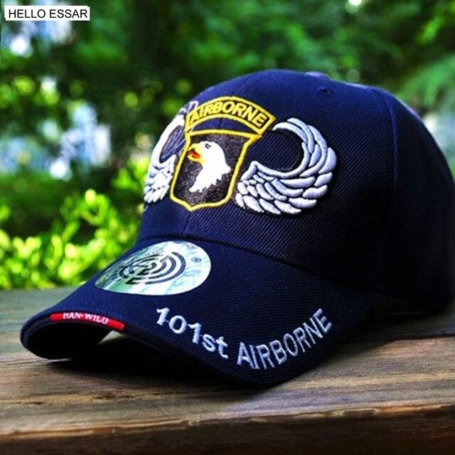 47ef0e17019e7 NOVO Boné de beisebol Das Mulheres Dos Homens Snapback Equipado Força Aérea  DOS EUA 101 No