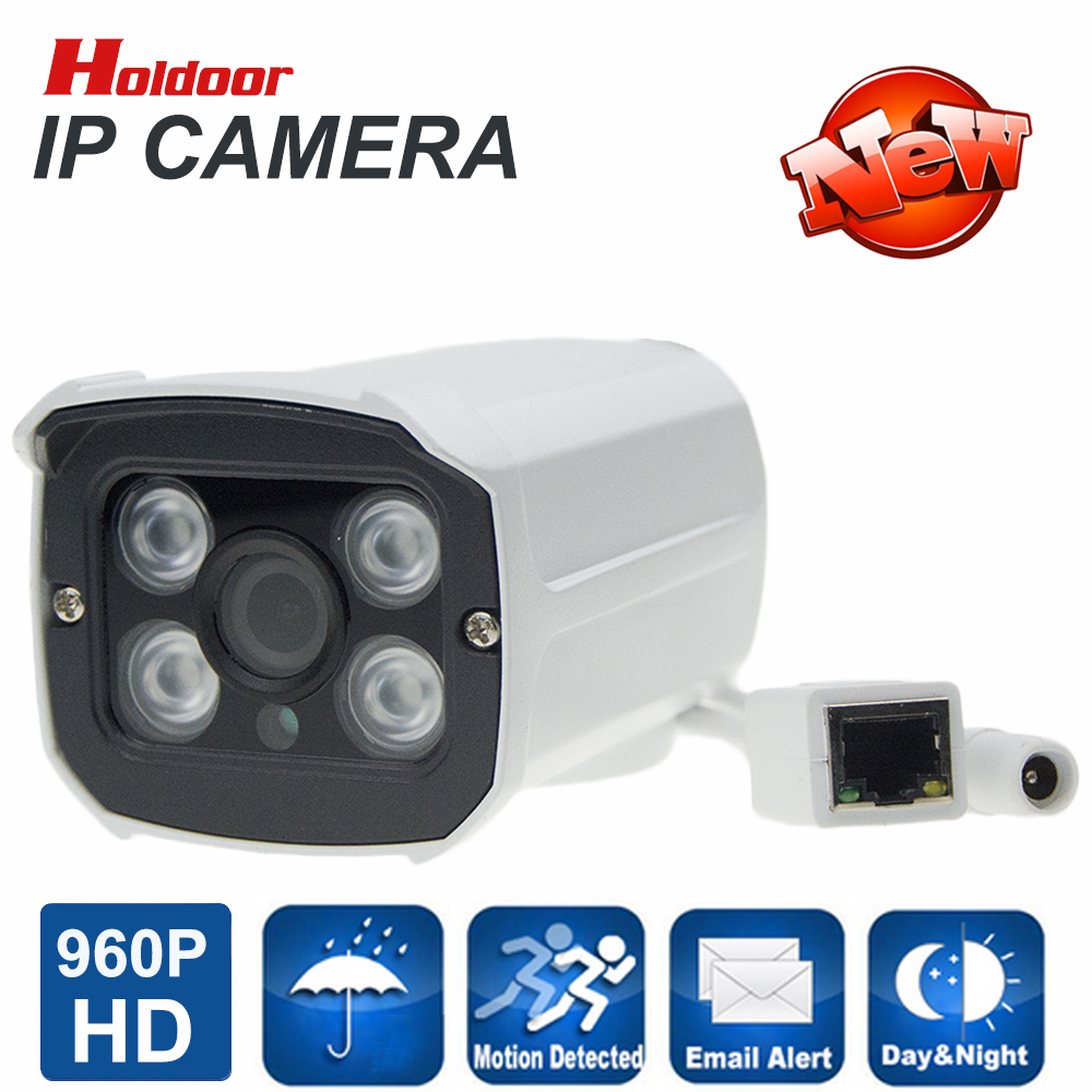 ФОТО 1280 x 960P Bullet IP Camera Waterproof 4pcs ARRAY LED IR Night Vision Outdoor Security Camera Onvif P2P CCTV Cam with IR-cut