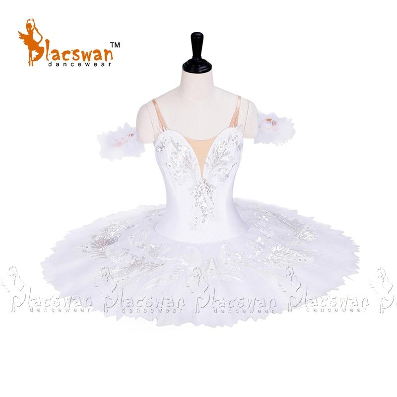 White Swan Professional Ballet Tutu Costume BT676 12 layers stiff tulle Performance Costume Sleeping Beauty Classic