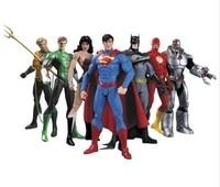 Avenger Super Hero Action Figure Marvel Figurine Super Man Batman Flash Wonder Woman DIY Anime Hero