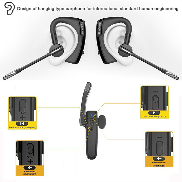 K6 voyager legend Bluetooth Headset