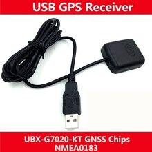 USB gps приемник Интерфейс gps модуль с антенной приемник Замена BU353S4 SKM55 VK-162