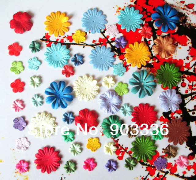 60pcs lot mixed craft paper flowers for scrapbooking decorations 60pcs lot mixed craft paper flowers for scrapbooking decorations wedding supplies favors paper cards invitation mightylinksfo