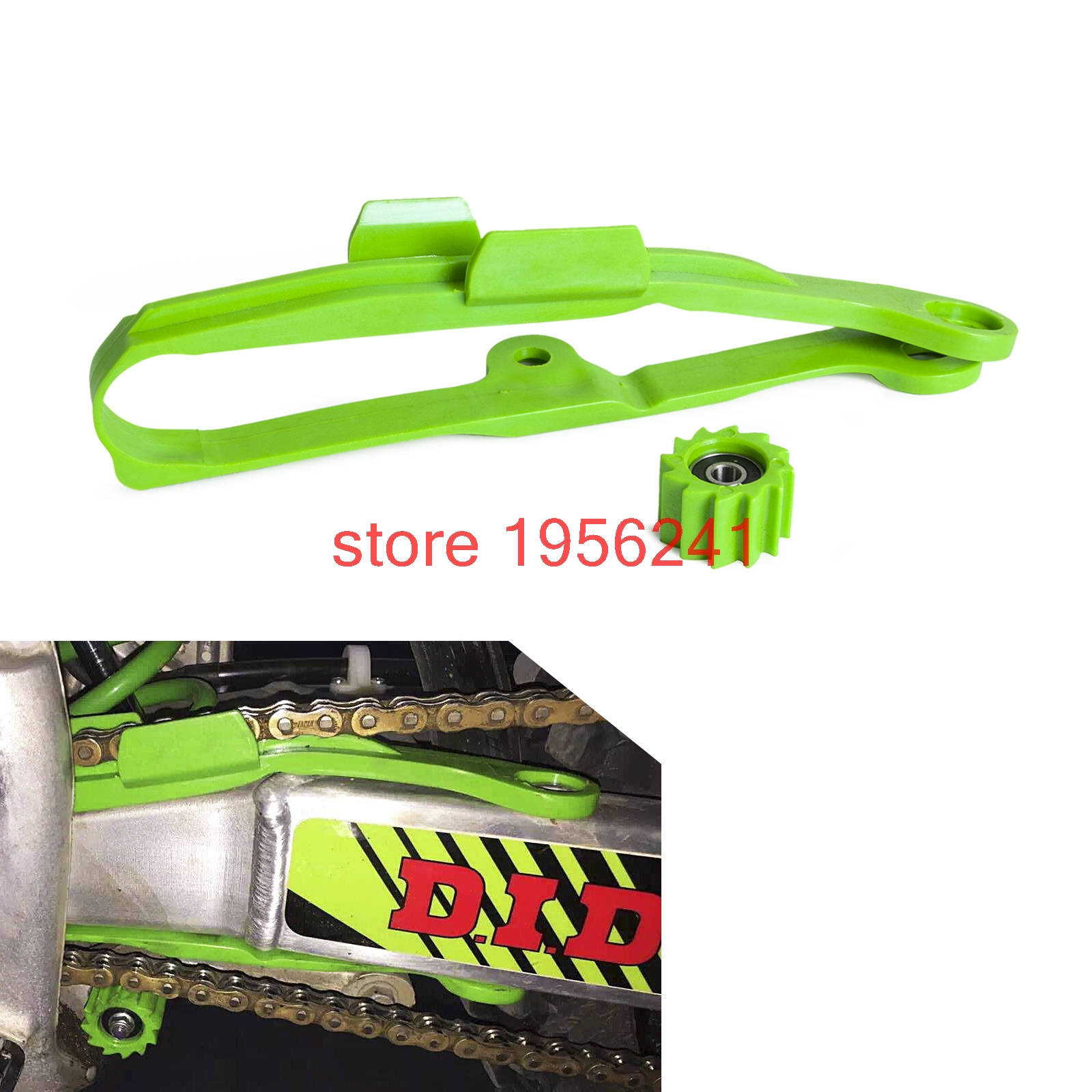 Chain Slider Guard Slider Kit for Kawasaki KX250F KX450F KXF250 KXF450 2006-2016 KXF 250 450