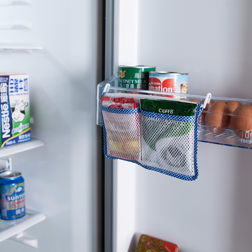 4 Pcs/lot New Kitchen Refrigerator Hanging Storage Bag Food ...