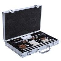 1set Universal Hunting Pistol Rifle Pistol Handgun Shotgun Cleaner Gun Cleaning Kit Convenient With Case Box