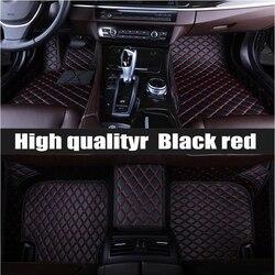 Custom fit auto vloermatten voor Fiat 500 Viaggio S bravo Ottimo 5D zware tapijt vloer liner