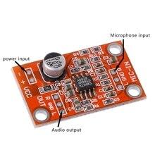 Быстро раскупаемый 1 шт. AD828 стерео динамик предусилитель для микрофона доска предусилитель микрофона Модуль постоянного тока 3,8 V-15 V