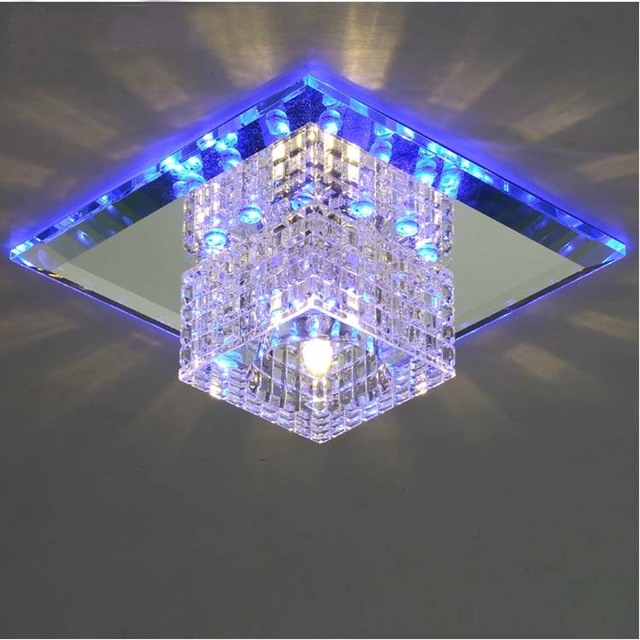 Aliexpress.com : Buy Modern brief recessed led crystal light fixture ...