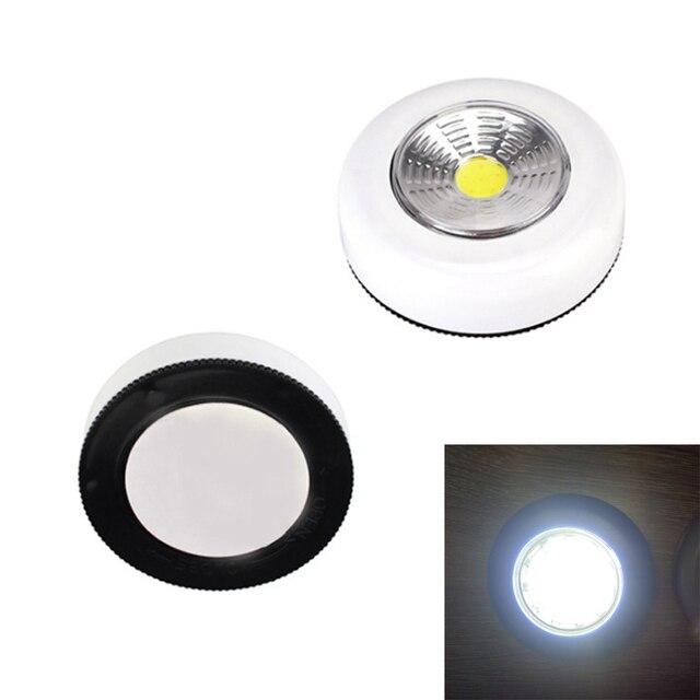 Cob Led Night Light Battery Ed Touch Wall Lamp Mini Nightlamp Emergency Cordless