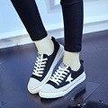 Студенты Холст Повседневная Обувь Женщин Корейской Версии Дышащие Летняя Школа Весной и Осенью Обувь Размер 35-40