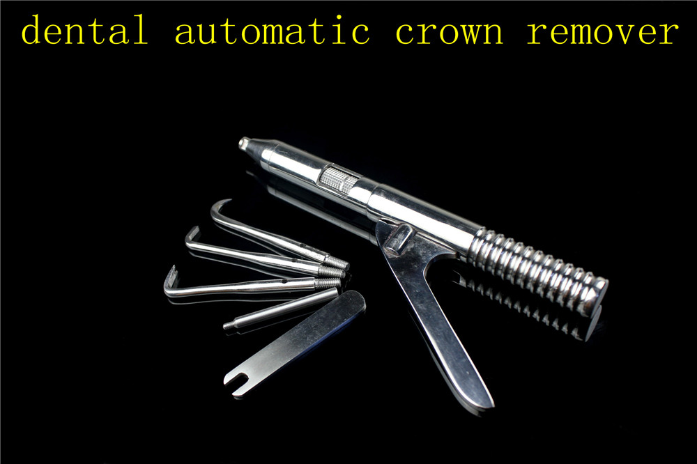 medical Dental Automatic Crown Remover Set Stainless Steel Singlehanded Surgical Instrument Tools Teeth Whitening Oral Hygiene