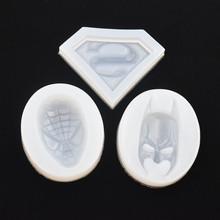 SNASAN 3pieces Silicone Mold for jewelry heroes Resin Mould handmade tool  epoxy resin molds