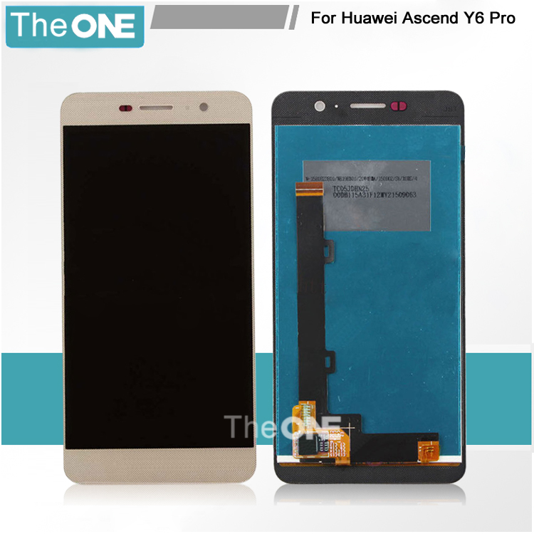 Gold/White/Black Full LCD Display + Touch Screen Digitizer Glass Assembly For Huawei Y6 Pro Y6Pro / G Power Free Shipping