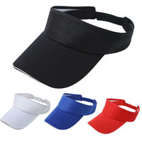 Sports Sun Visor Hat Adjustable for Golf Tennis Fishing Jogging Beach Headband