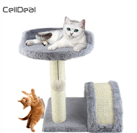 Durable Cat Climbing Tree Cat Scratching Tree Frame Pet Playing Furniture Games Application Cat Scratcher Scratching Post