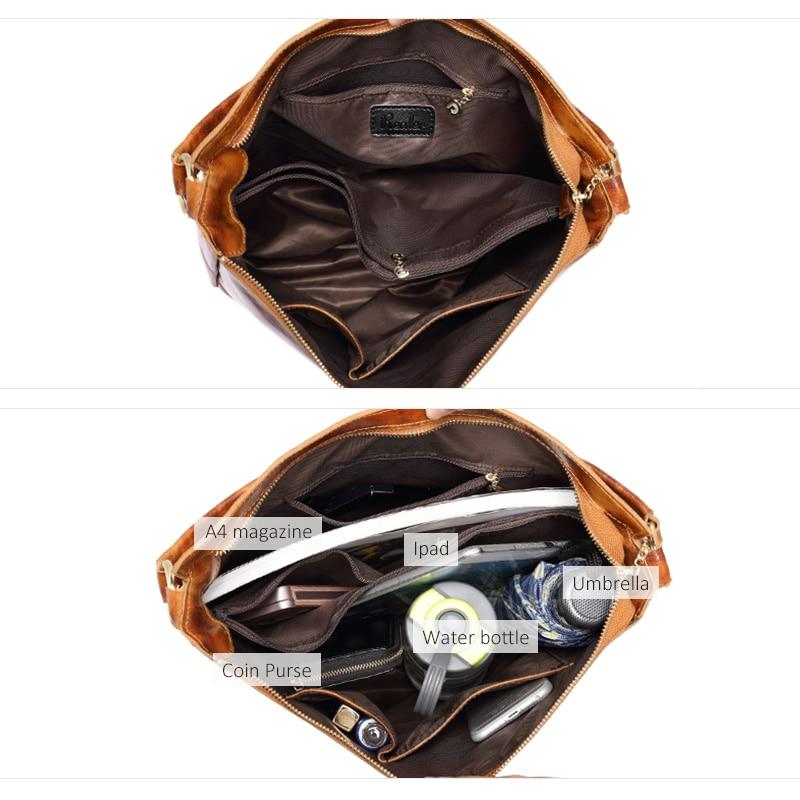 Женские Натуральная кожа сумка большая бродяги сумка женские кожаные сумки