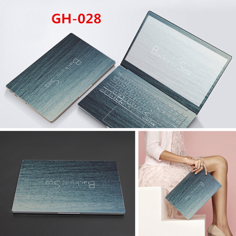 Free Cutting Stickers Skin For Toshiba Series Model Full Cover Vinyl Laptop Skin ABC Sides+Keys+Key Interstice Stickers Sleeve
