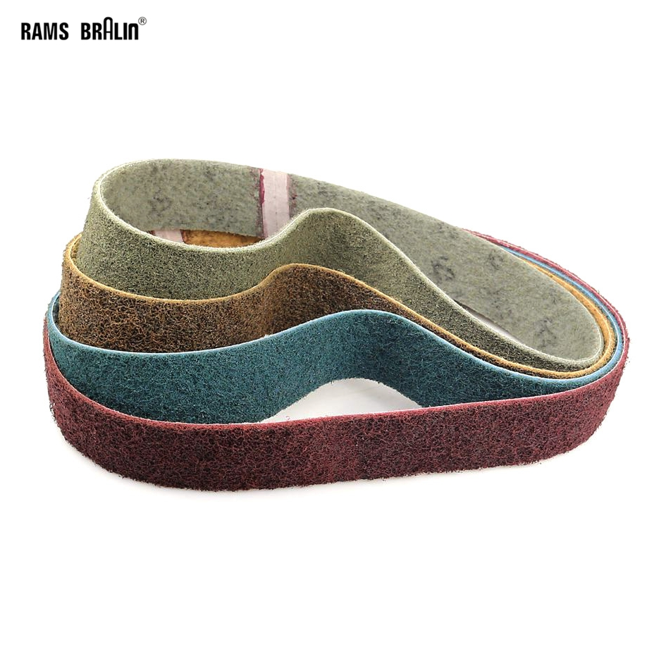 1 Piece 915*50mm Non-woven Nylon Abrasive Sanding Belt For Metal Coarse Grinding To Fine Polishing