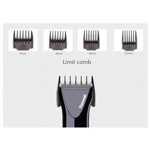 Image 5 - Professional Hair clipper trimmer Lithium batterie quick charge LCD Geschwindigkeit bis Barber Tools Wiederaufladbare cutter maschine 100 240 V