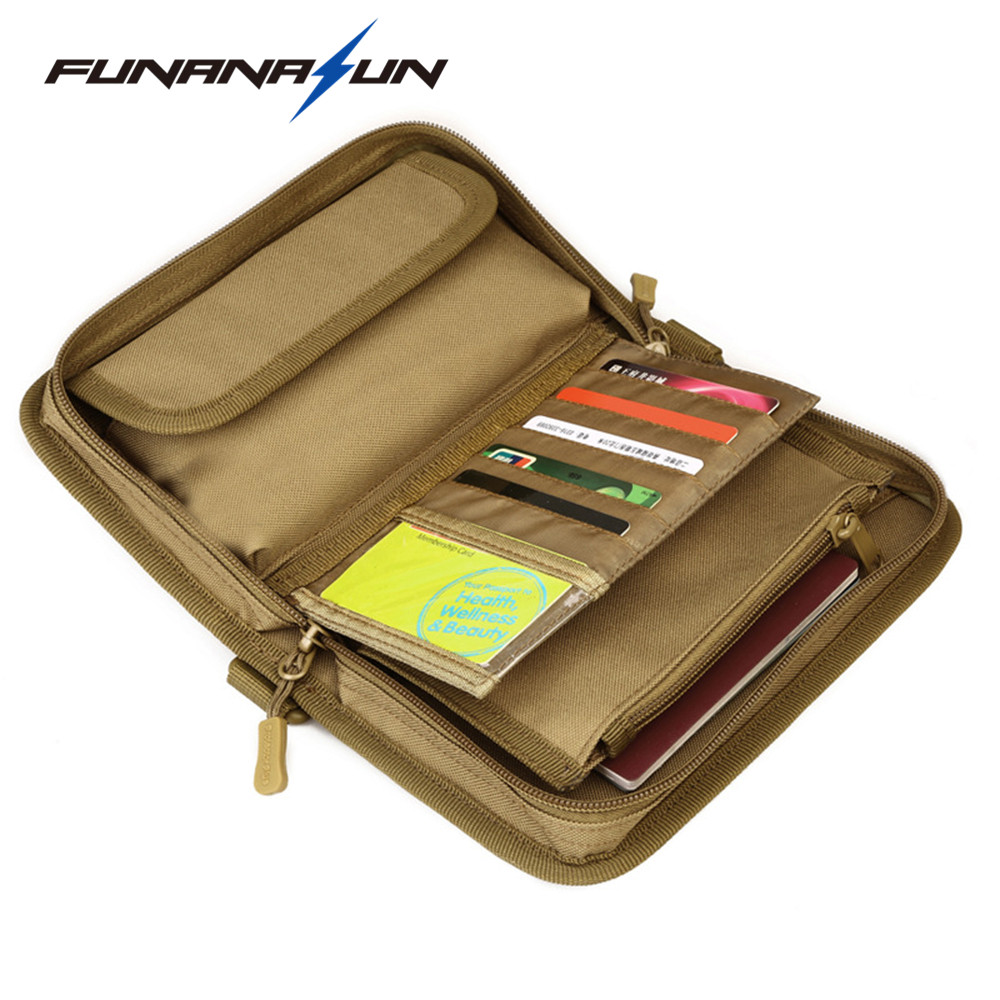 Tactical Molle Waist Bag ID Card Case Credit Card Holder Organizer Hunting Phone Bag Travel Hand Wallet Bag etya bank credit card holder card cover