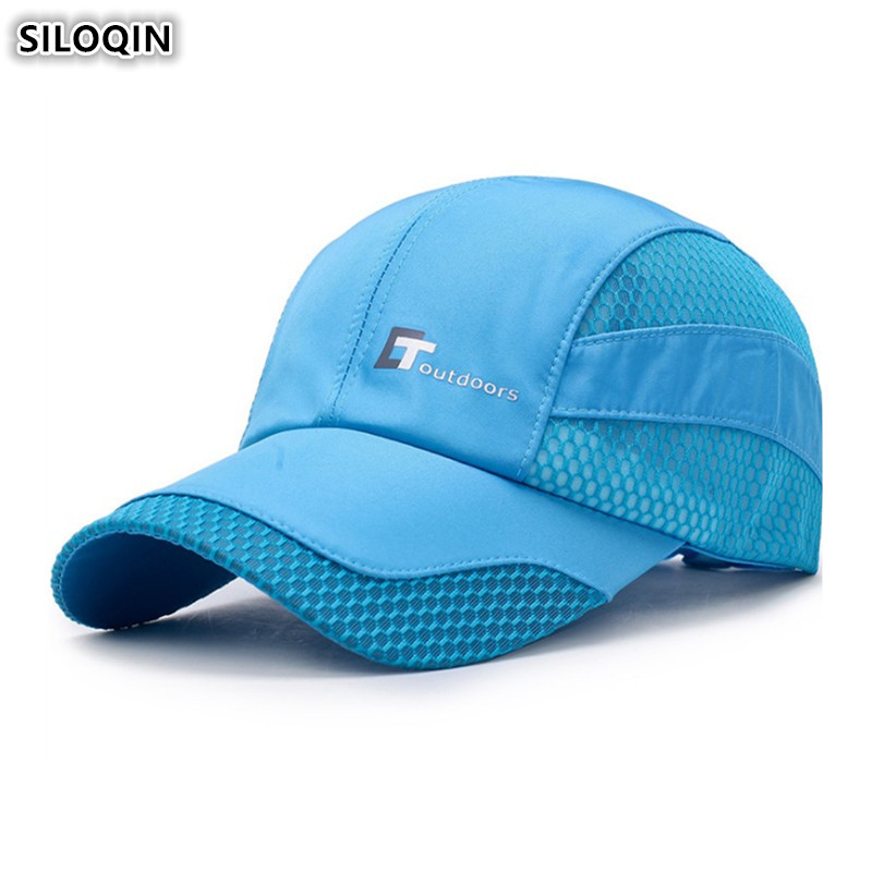 SILOQIN Summer Women 39 s Ponytail Breathable Baseball Cap Adjustable Size Men 39 s Fashion Ventilation Mesh Caps Snapback Cap Unisex in Men 39 s Baseball Caps from Apparel Accessories