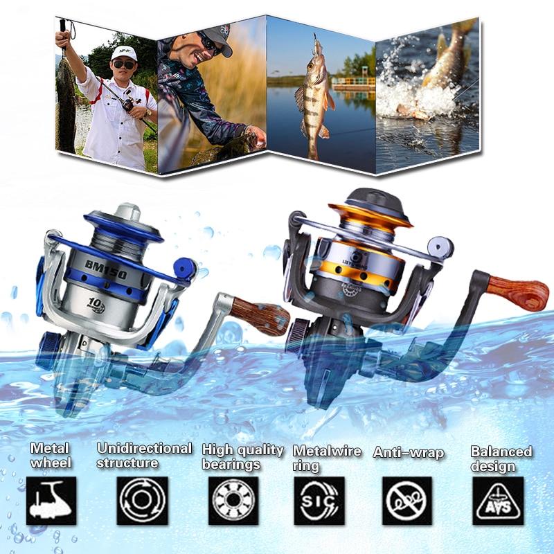 Mini Spinning Fishing Reel 10bb/mini Reel Fishing/reel Mini Fishing/mini Spinning Reel For Fishing(China)