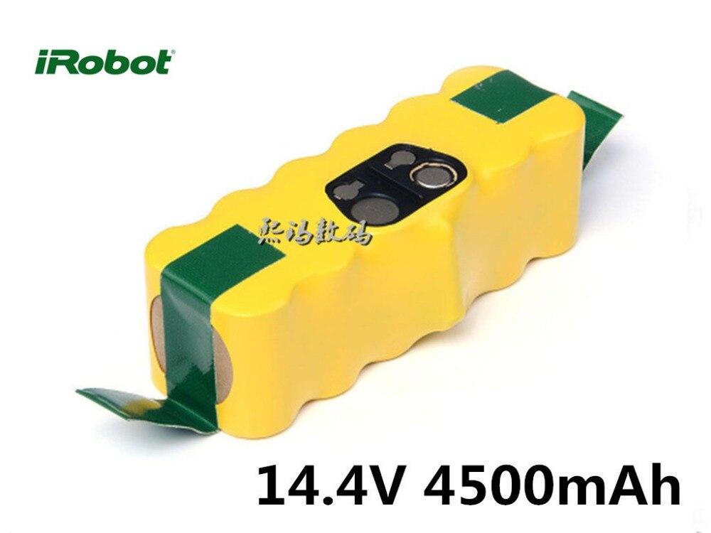 Aspirateur accessoires 14.4 V 4500 mah NI-MH Batterie pour iRobot Roomba 530 535 510 550 560 570 562 572 610 760 770 780 790
