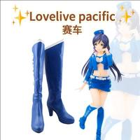 hot LoveLive pacific Racer Cosplay Anime boots Love Live Shoes Custom made