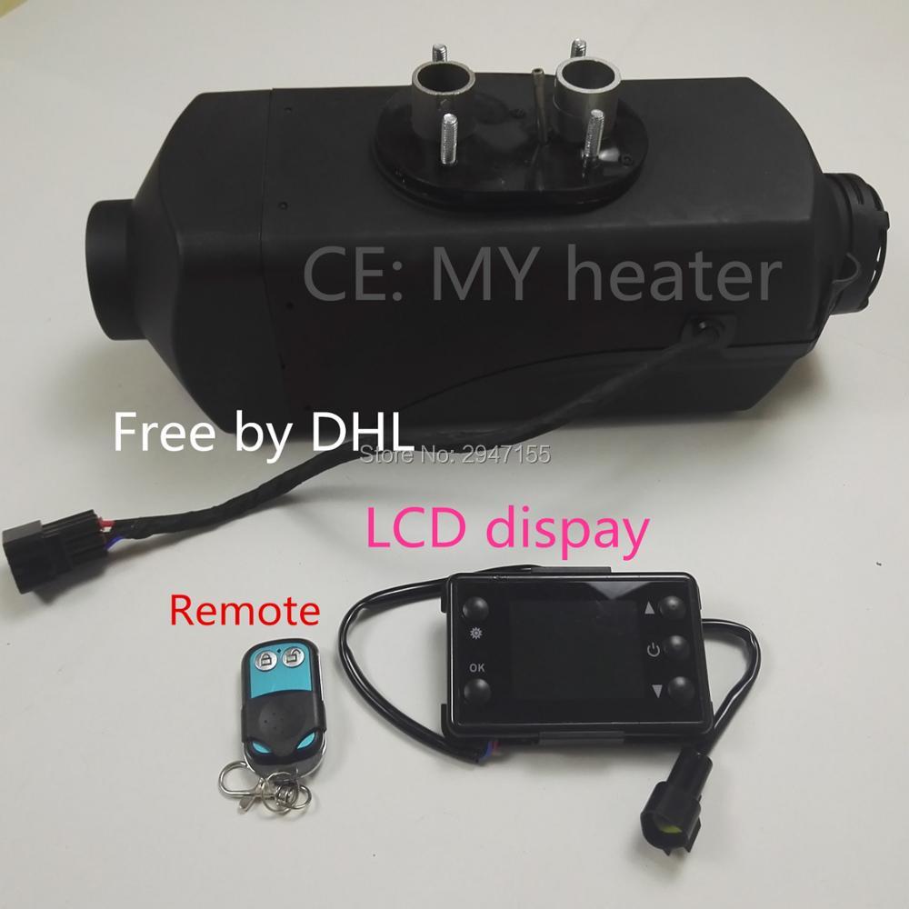 Controle remoto + (5000 W 12 V) aquecedor webasto diesel para RV barco navio car truck bus caravan-substituir eberspacher D4, Webasto em 5000.