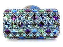 YU17-3 Kristall Abendtasche Clutch Pfau diamant pochette soiree Frauen abend handtasche hochzeit clutch tasche