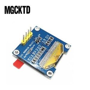"""Image 2 - 10 adet 4pin 0.96 inç OLED modülü Yeni 128X64 OLED LCD LED Ekran Modülü Arduino Için 0.96"""" IIC I2C İletişim"""