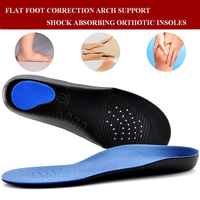 Hiking Walking Orthopedic Insoles Flat Foot Orthotic Man Women Shoes Arch Support Cushion Feet Care Insert