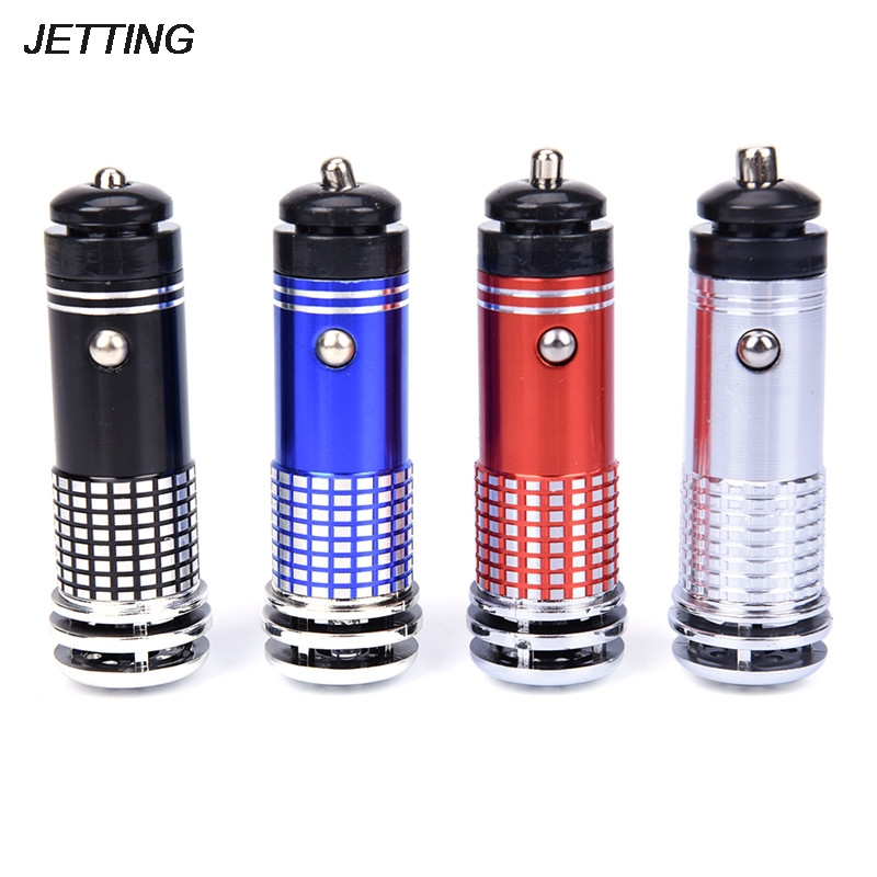 High Quality 12V Mini Car Vehicle Air Purifier Auto Car Fresh Air Anion Ionic Purifier Oxygen Bar Ozone Ionizer Cleaner Hot