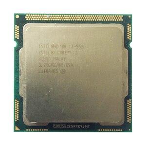Процессор intel core i3 550, разъем LGA1156/3,2 ГГц/L3 4 Мб/двухъядерный процессор TDP -73 Вт/есть 1156x3440x3450x3470