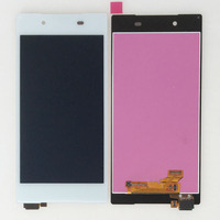 White Touch Digitizer LCD Display Assembly For Sony Xperia Z5 E6683 E6653 E6603
