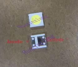 500 шт./лот единства оптико SMD светодиодный бусы 1 W 3535 3 v холодный белый 90Lm для ЖК-дисплей/ТВ Подсветка Применение
